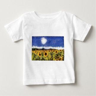 Starry Night Sunflowers Baby T-Shirt