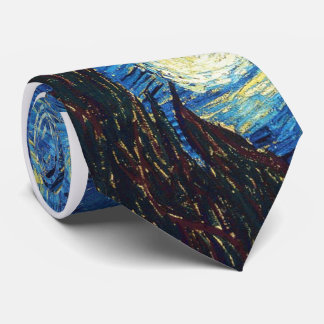 Starry Night Tie Van Gogh