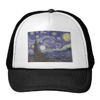Starry Night Trucker Hat