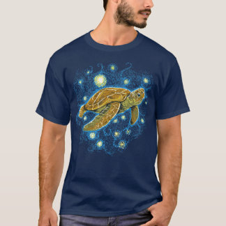 Starry Night Turtle T-shirt
