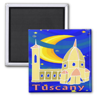 Starry Night Tuscany Magnet