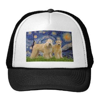 Starry Night - Two Wheaten Terriers (2nd) Trucker Hat