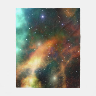 Starry Night Universe Fleece Blanket