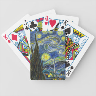 Starry Night, Van Gogh Bicycle Playing Cards