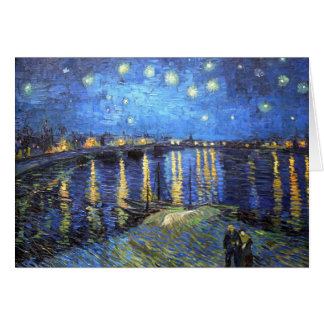 Starry Night: Van Gogh Card