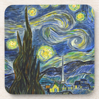 Starry Night, Van Gogh Coaster