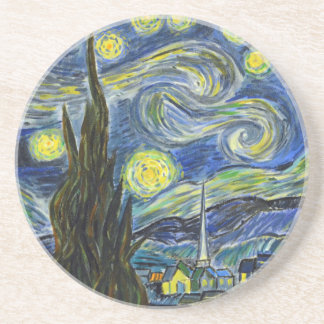 Starry Night, Van Gogh Coasters