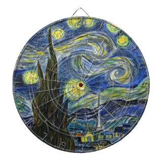 Starry Night, Van Gogh Dartboard
