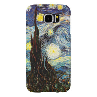 Starry Night Van Gogh Fine Art Samsung Galaxy S6 Cases