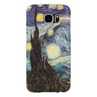 Starry Night Van Gogh Fine Art Samsung Galaxy S6 Cases