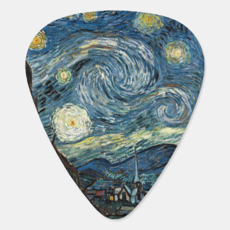 Starry Night Van Gogh Guitar Pick