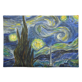Starry Night, Van Gogh Placemat