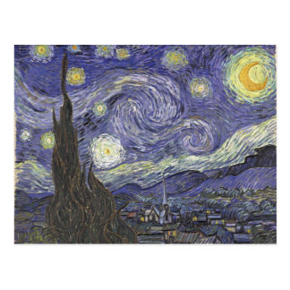 Starry Night - Van Gogh Postcard