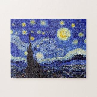 Starry Night Van Gogh Puzzles