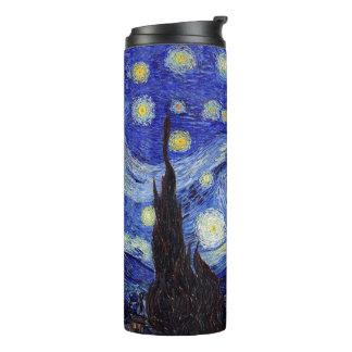 Starry Night Van Gogh Thermal Tumbler