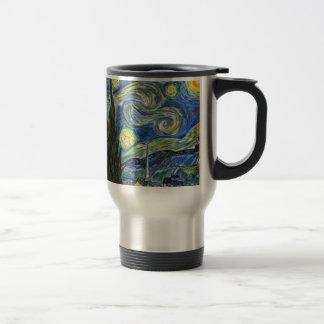 Starry Night, Van Gogh Travel Mug