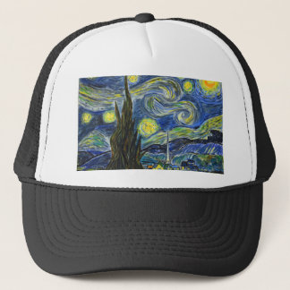 Starry Night, Van Gogh Trucker Hat
