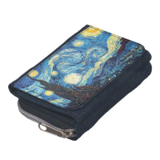 Starry Night Van Gogh Wallet