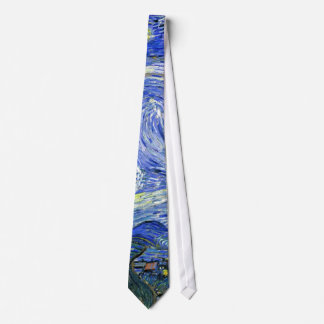 Starry Night ~ Vincent  van Gogh ~ Fine Art Tie
