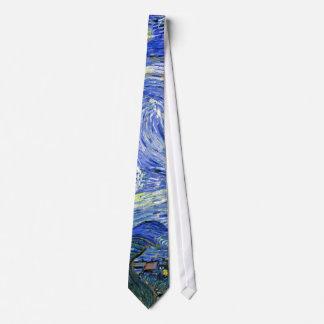 Starry Night ~ Vincent  van Gogh ~ Fine Art Tie