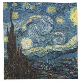 Starry Night Vincent Van Gogh Napkin