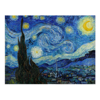 Starry Night | Vincent Van Gogh Postcard