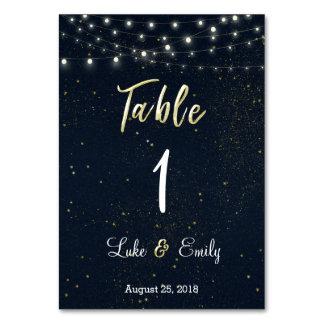 Starry Night Wedding Card