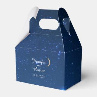 Starry Night Wedding Favor Box