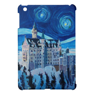 Starry Night with Romantic Castle Van Gogh inspire Cover For The iPad Mini