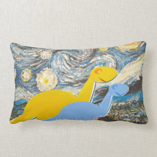 Starry Night You are a Star Cute Dinosaurs Pillow