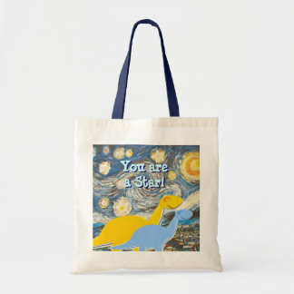 Starry Night You are a Star Dinosaurs Bag
