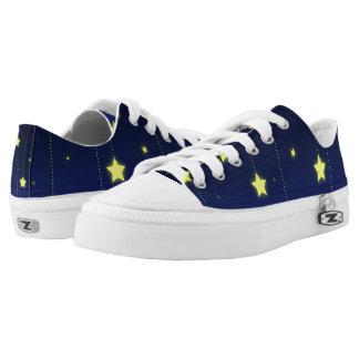 Starry Night zipz low top shoes