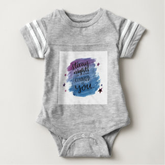 Starry Nights are Nothing Compared to You Baby Bodysuit