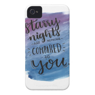 Starry Nights are Nothing Compared to You iPhone 4 Cover
