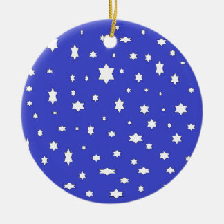 starry-nite ceramic ornament
