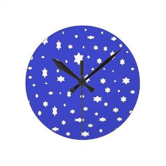 starry-nite round clock