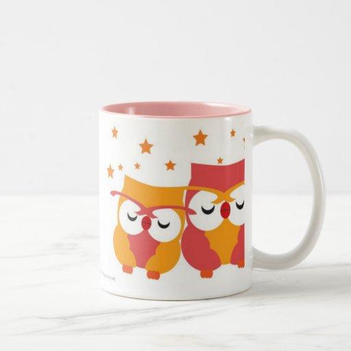 Starry Owls Coffee Mugs