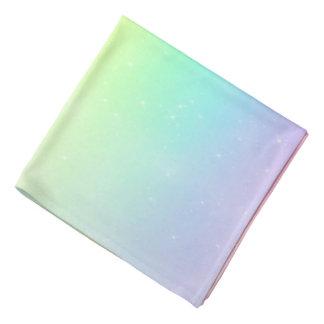 Starry Pastel Rainbow Sky Bandana
