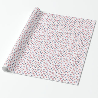 Starry pattern wrapping paper