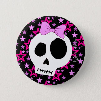 Starry Punk Button