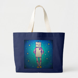 Starry Robot Tote