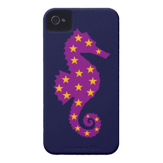 Starry Seahorse iPhone 4 Cases
