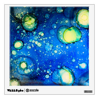 Starry Sky Alcohol Ink Painting Wall Sticker