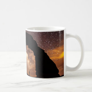 Starry sky milky way mug