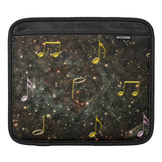Starry Sky Musical Notes Music Melody iPad Sleeve