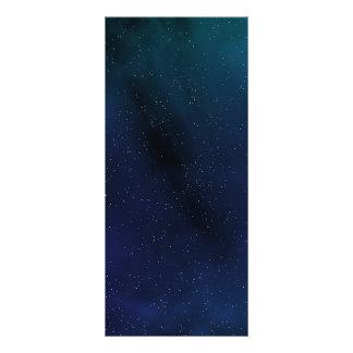 Starry Space Scene Rack Card