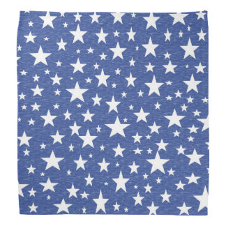 Starry Starry Night Blue Bandana
