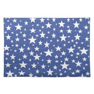 Starry Starry Night Blue Placemat