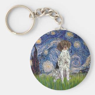 Starry State - German Short Haired Pointer Keychain