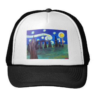 Starry Stonehenge Trucker Hat